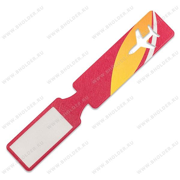 Чехол для багажной бирки с полноцветным логотипом