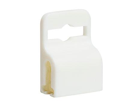пластиковый гриппер белый