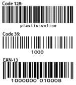 варианты штрих-кода