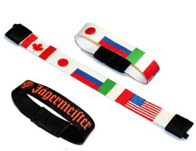 текстильный многоразовый браслет