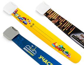 пластиковый многоразовый браслет