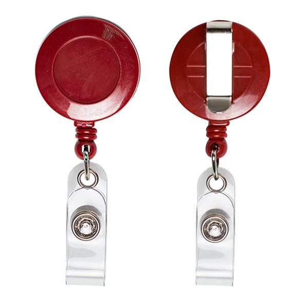 Ретрактор круглый красного цвета