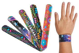 Слэп браслет с полноцветной печатью