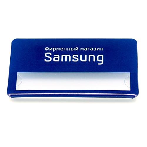 бейдж со сменной панелью Samsung