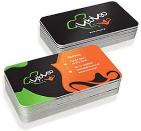 пластиковая визитка